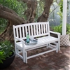4Ft Outdoor Patio Glider White