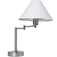 Boston Harbor Swing Arm Table Reading Lamp