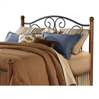 Dora Queen Size Metal Headboard