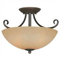 Berkshire Classic Bronze Ceiling Light