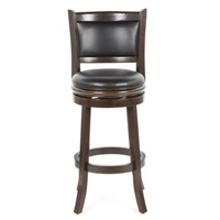 Cappuccino Swivel Bar Stool - 29 Inch