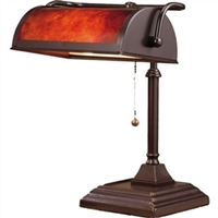 Classic Style Bankers Accent Lamp