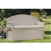 Outdoor Patio Garden Bench with Storage under seat