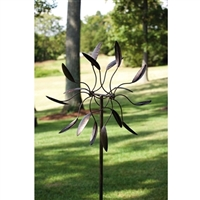 Spinning Outdoor Metal Garden Art Wind Spinner