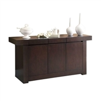 Sideboard Cabinet - Server Table in Cappuccino Finish