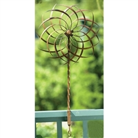 Outdoor Garden Wind Spinner Pin-Wheel - Handcrafted