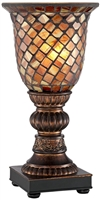 Regency Hill Accent Uplight Mosaic Lamp
