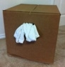 White T-Shirt Rags (25 lb. box)