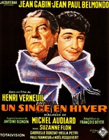 A Monkey in Winter (1962) H. Verneuil; Jean Gabin, Jean-Paul Belmondo
