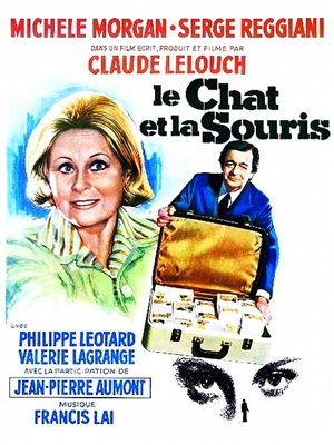 Le Chat et la Souris (1975) Claude Lelouch; Michele Morgan, Serge Reggiani