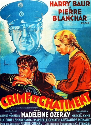 Crime et Chatiment (1935) Pierre Chenal; Harry Baur, Pierre Blanchar