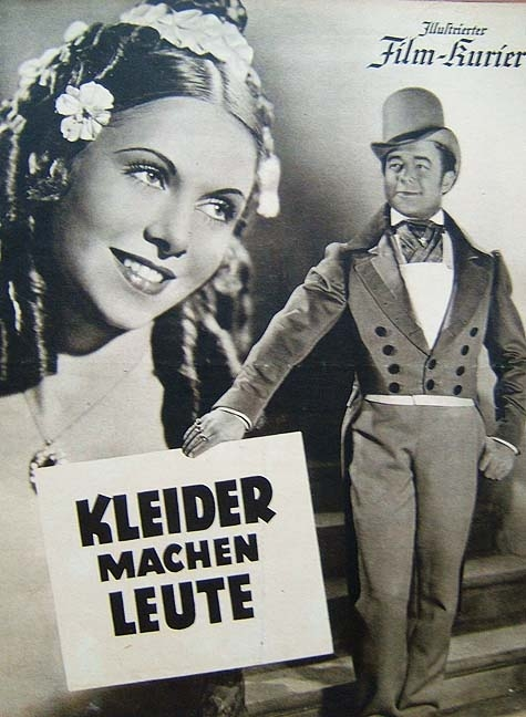 Kleider Machen Leute (1940) Helmut Käutner; Heinz Rühmann, Hertha ...