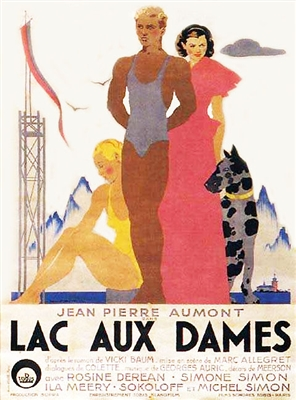 Lac aux Dames (Ladies Lake) (1933) Marc Allegret; Simone Simon, Jean-Pierre Aumont