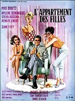 L'appartement des Filles (1963) Michel Deville; Mylene Demongeot, Sylva Koscina