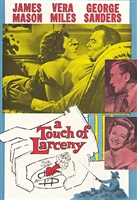 A Touch of Larceny (1959) James Mason, George Sanders, Vera Miles