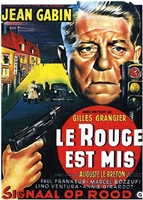 Le Rouge est Mis (Speaking of Murder) (1957) Jean Gabin