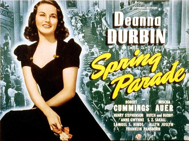 Spring Parade (1940) DVD, Spring Parade 1940 DVD, Deanna Durbin, Robert  Cummings, Mischa Auer, Reginald Denny, Franklin Pangborn, vienna, austria