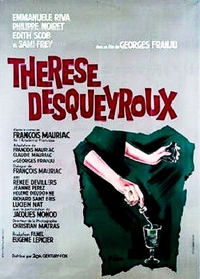 Therese Desqueyroux (1962) Georges Franju; Emmanuelle Riva, Philippe Noiret