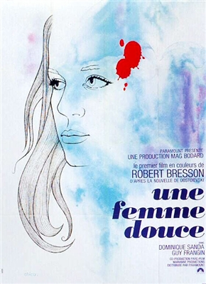 Une Femme Douce (1969) Robert Bresson; Dominique Sanda, Guy Frangin