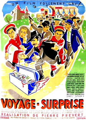 Voyage Surprise (1947) Pierre Prevert; Therese Aspar, Maurice Baquet