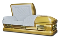 Golden Venus Bronze/Copper Casket | Metal Casket | Divine Caskets