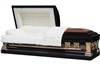 Bronze Knight Stainless Steel Casket | Metal Casket | Divine Caskets