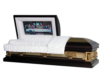Last Supper Casket | Metal Casket | Divine Caskets