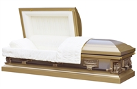 Golden Pieta Casket