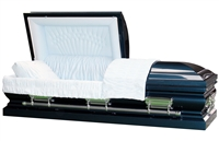Anthem Blue Casket | Metal Casket | Divine Caskets
