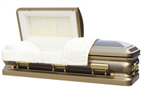 Brighton Gold Casket Coffin