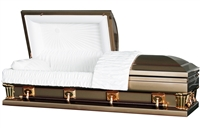 Frank Gold Casket Coffin
