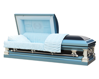 Father Casket | Metal Casket | Divine Caskets