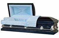 Galaxy Blue Casket Coffin
