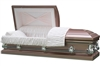 Galaxy Silver Rose Casket Coffin