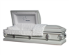 Heavenly White Casket