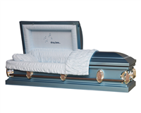 Heavenly Blue Casket