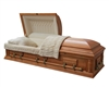 Elite Oak Casket Coffin