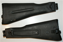 Russian Black AK polymer stock w/cut