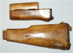 Russian AK47 furniture set wood for milled receiver