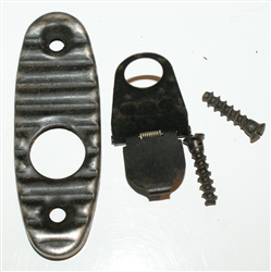 Russian AK-74 butt plate with trap door and screws
