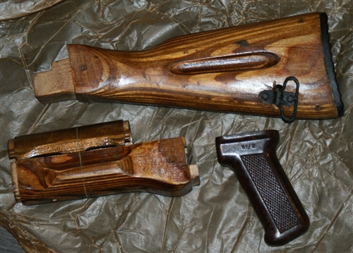 Russian AK-74 furniture set