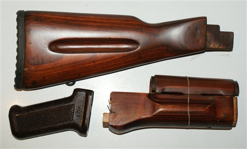 Russian Ak 74 Furniture Set With Rubber Butt Plate