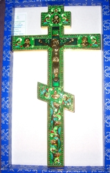 Russian Enemal Orthodox Altar cross