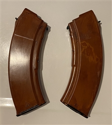 Russian Izhmash bakelite long top 30rd AK47 magazine