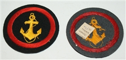 Original Soviet marine patch