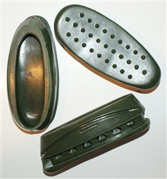 Russian recoil reducing pad. SVD/Mosin size. Green.