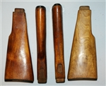 Original Russian stock for milled receiver (wood)