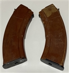 Russian Tula bakelite long top 30rd AK47 magazine
