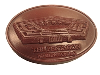 The Pentagon - Belgian Milk Chocolate - $12.99 each - minnimum order 4