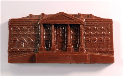 The White House - Front in Belgian Milk Chocolate - $8.50 each - minnimum order 4
